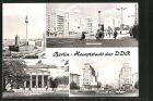 AK Berlin, Strausberger Platz, Fernseh- und UKW-Turm
