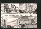 AK Berlin, Leninplatz, Centrum-Warenhaus am Alexanderplatz