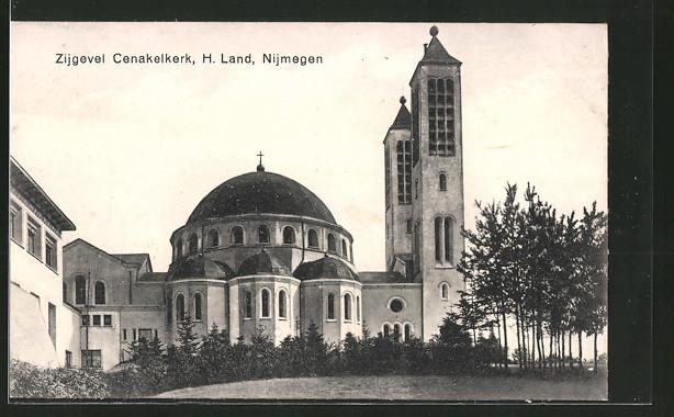 AK Nijmegen, Zijgevel Cenakelkerk, H. Land