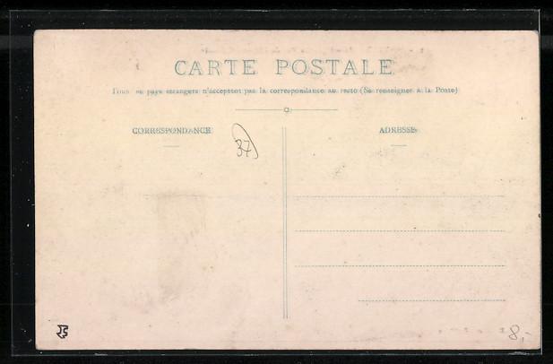 AK Sainte-Maure, la Rue du Chateau Gaillard 1