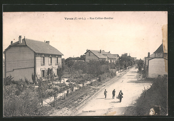 AK Voves, Rue Collier Bordier