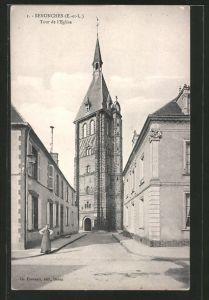 AK Senonches, Tour de l'Église