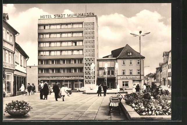 AK Mühlhausen, Hotel Stadt Mühlhausen