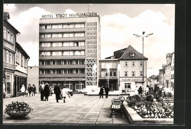 AK Mühlhausen, Blick auf das