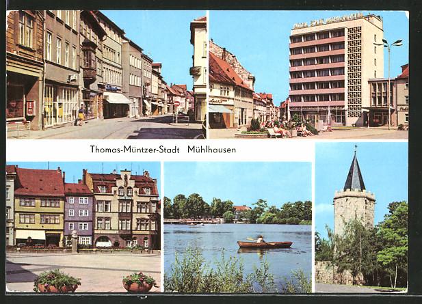 AK Mühlhausen, Steinweg,