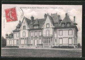 AK La Ferté Vidame, Château de la Barre