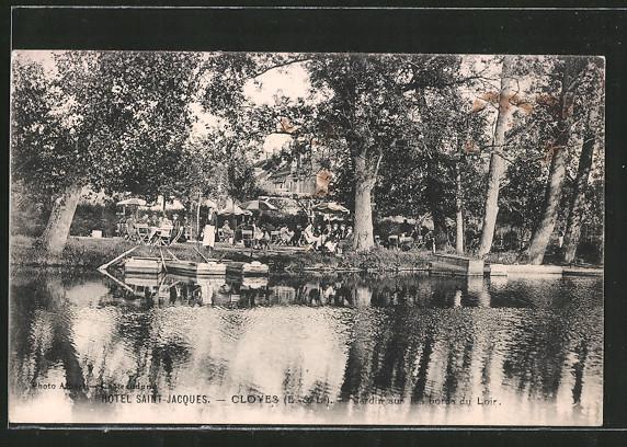 AK Cloyes, Hôtel de Saint Jacques