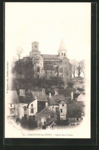 AK Chatillon-sur-Seine, Eglise Saint-Vorles