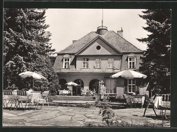 AK Chossewitz, Reisebüro der DDR-Erholungsheim