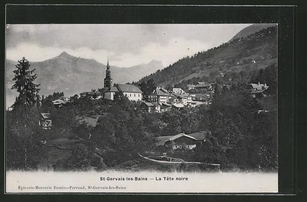 AK St-Gervais-les-Bains, la tête noire