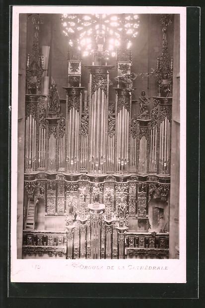 AK Rodez, Orgues de la cathédrale, Orgel