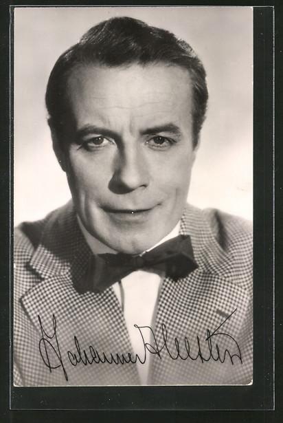 AK Schauspieler Johannes Heesters im Film
