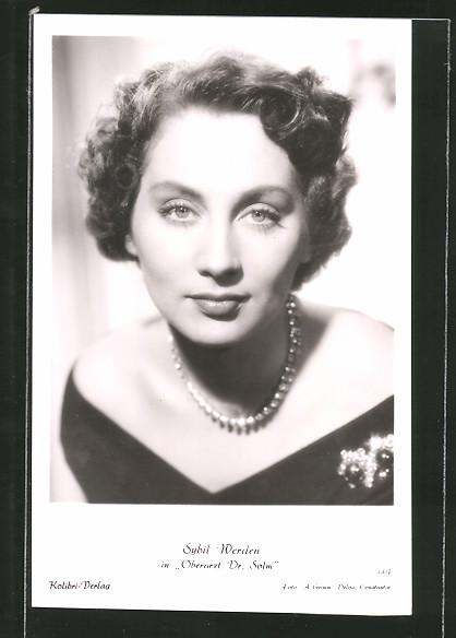 AK Schauspielerin Sybil Werden in