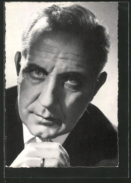 AK Portrait des Schauspielers O.E.Hasse
