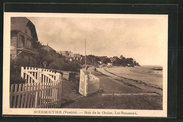 Le Bois De La Chaize > AK Noirmoutier, bois de la chaize, les Souzeaux Nr 6190411 oldthing Ansichtskarten Europa