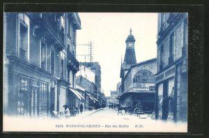 AK Bois-Colombes, rue des Halles