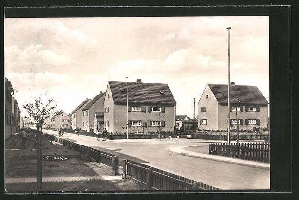 Ak Duisburg Buchholz Strasse Am Hauweg Ecke Am