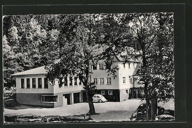 AK Feldrom, Waldgaststätte Kattenmühle im Silberbachtal