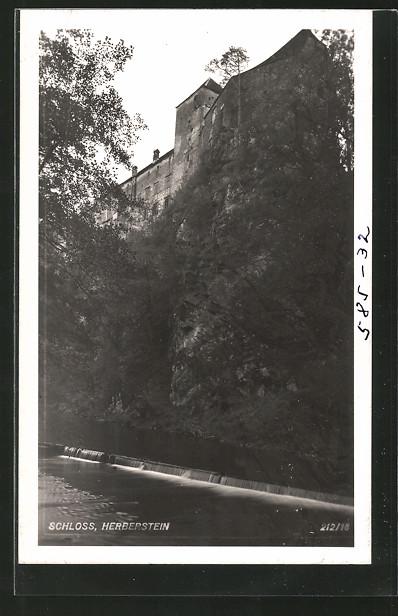 AK Herberstein, Blick zum Schloss