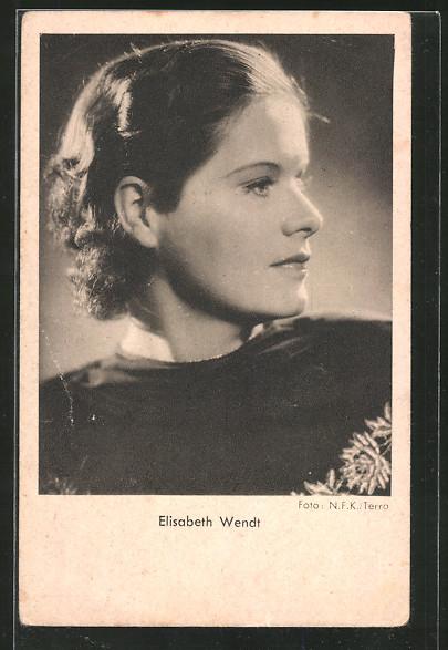 AK Schauspielerin Elisabeth Wendt