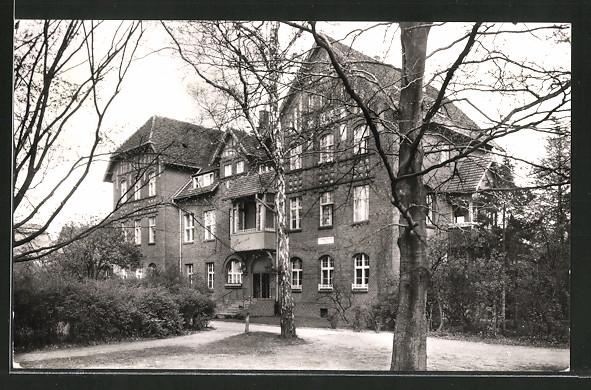 AK Berlin-Spandau, Ev. Johannesstift, Matthias-Claudius-Heim