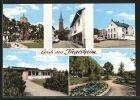 AK J�gesheim, Kirche, Strassenpartie, Minigolf, Schule