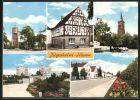 AK J�gesheim, Strassenpartie, Ortspartie, Kirche