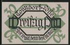 Notgeld Tonndorf-Lohe 1921, 30 Pfennig, Alter Grenzstein