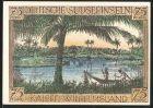 Notgeld Berlin 1921, 75 Pfennig, Kolonialgedenktag, Kaiser Wilhelmsland, Deutsche S�dseeinseln