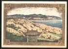 Notgeld Berlin 1921, 75 Pfennig, Kolonialgedenktag, Kiautschau, Iltisberge