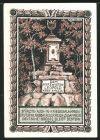 Notgeld Tiefurt 1921, 50 Pfennig, Herzogin Anna Amalie, Grabst�tte Leopold