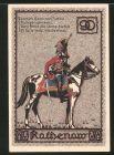 Notgeld Rathenow, 90 Pfennig, Husarengeneral Joachim Hans von Zieten