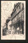 AK Sens, Grande-rue et les galeries parisiennes