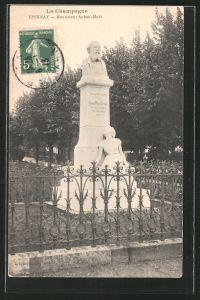AK Epernay, monument Auban-Moet
