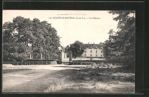 Ak la chapelle bouexic le ch teau nr 6239258 oldthing for Garage ad la chapelle bouexic