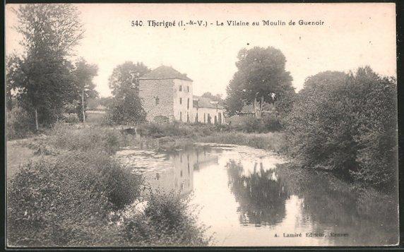 AK Thorigne, la villaine au moulin de Guenoir