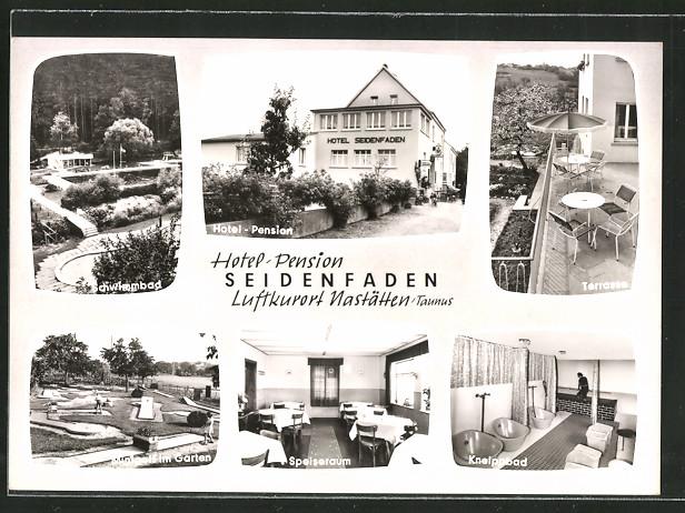 ak nast tten hotel pension seidenfaden terasse kneipbad minigolf im garten nr 6241938. Black Bedroom Furniture Sets. Home Design Ideas