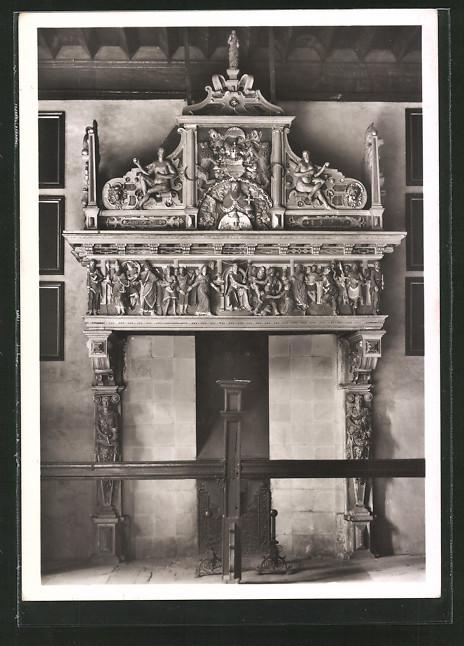 foto ak deutscher kunstverlag nr 16 m nster rathaus. Black Bedroom Furniture Sets. Home Design Ideas