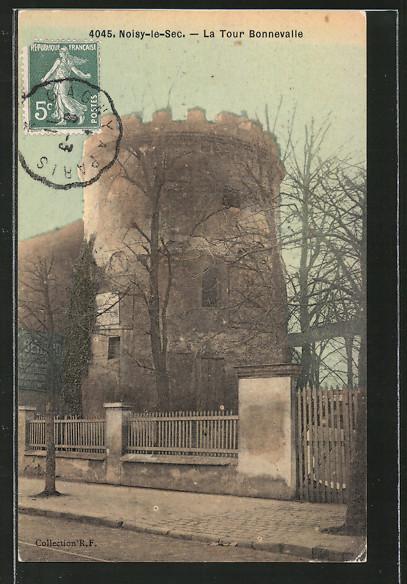 AK Noisy-le-Sec., la tour Bonnevalle