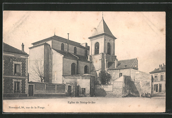 AK Noisy-le-Sec, l'église