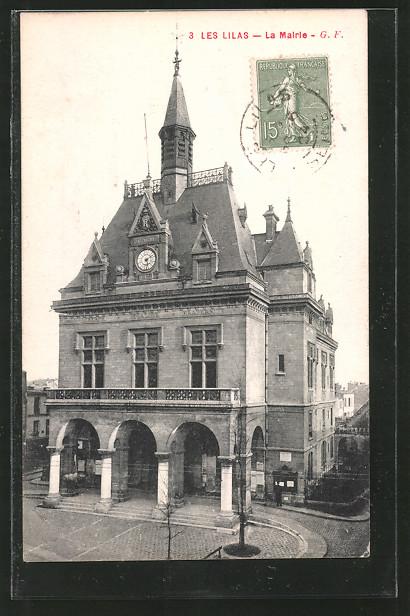 AK Les Lilas, La mairie