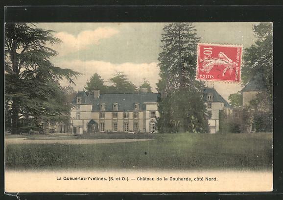 AK La Queue-lez-Yvelines, château de la Couharde, côté nord