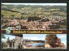 AK Fr�nkisch-Crumbach, Burgruine Rodenstein, Freischwimmbad, Dorfschmiede und Teilansicht