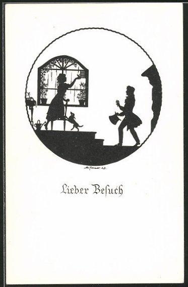 Künstler-AK Elsbeth Forck: