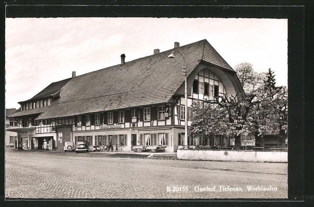 AK Worblaufen, Gasthof Tiefenau