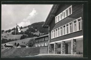 AK Schönried, Ferienheim des Amtes Fraubrunnen