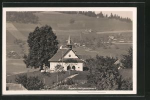 AK Heiligenschwendi, Blick zur Kapelle