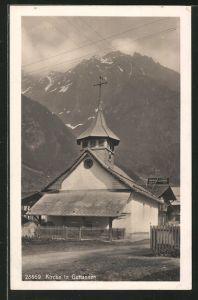 AK Guttannen, Blick zur Kirche