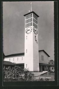 AK Wabern, Partie an der Kirche