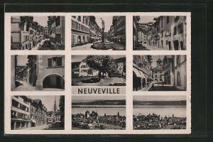 AK Neuveville, Rue du marché, rue Beauregard, rue de collège